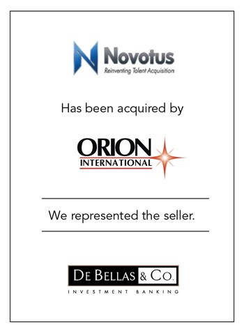 Novotus and Orion International